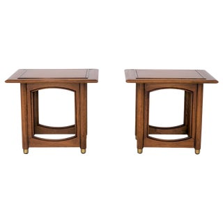 Hekman Mid-Century Side Tables - A Pair