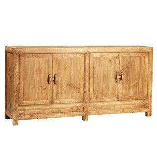 Reclaimed Elm Wood Sideboard