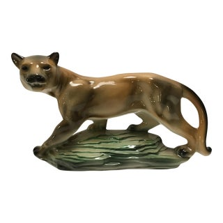 Lane Ceramics Mid-Century Mountain Lion