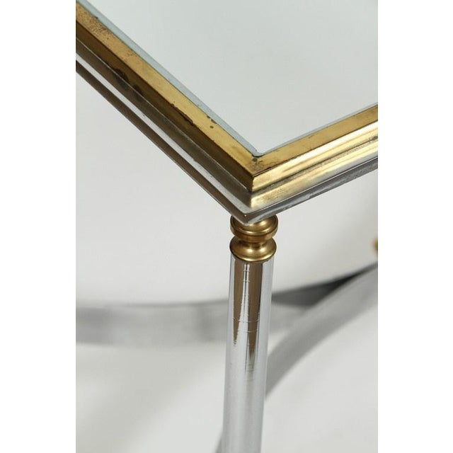 Brass & Chrome Coffee Table - Image 3 of 6
