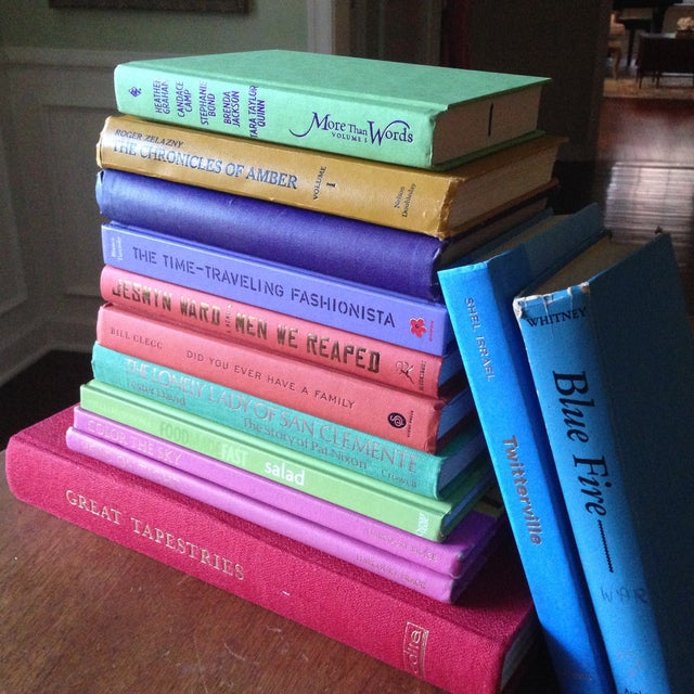 Brightly Colored Decorative Books - Set of 13 - Image 10 of 11