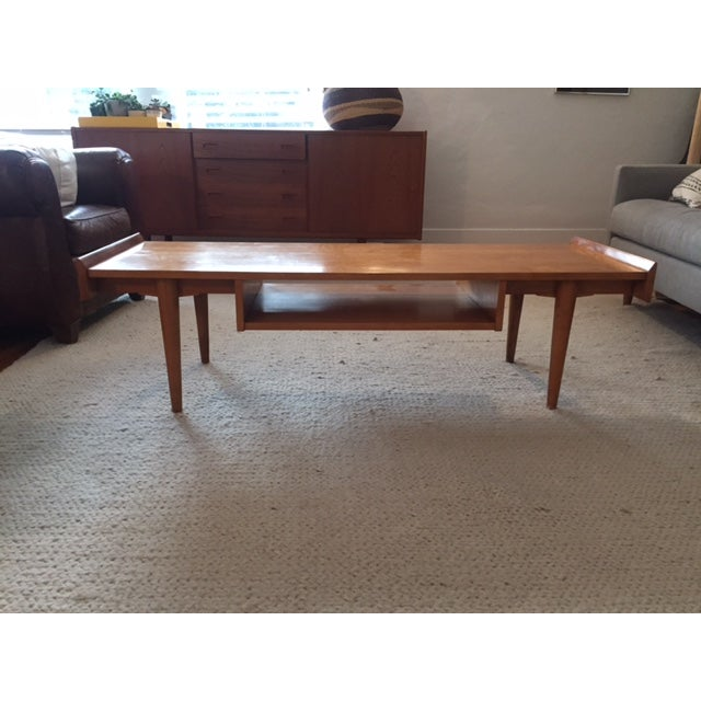 Danish Mid-Century Oak Coffee Table