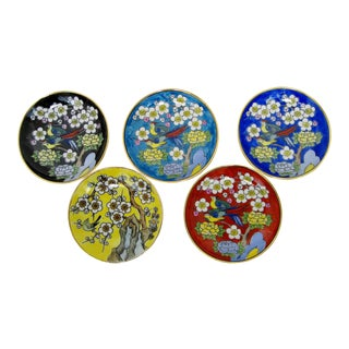 Amuse Bouche Porcelain Plates - Set of 5