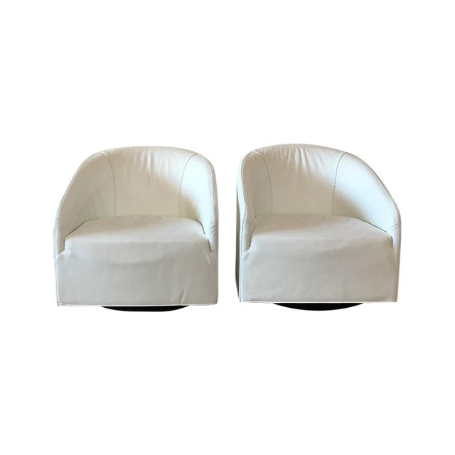 Minotti Portofino Lounge Chairs 2 Chairish