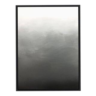 """""""Abstract Gray Ombré"""" Framed Giclée Print"""