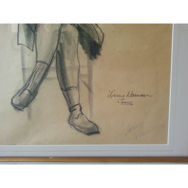 Image of 1956 Sitting Woman by Larry Hamner
