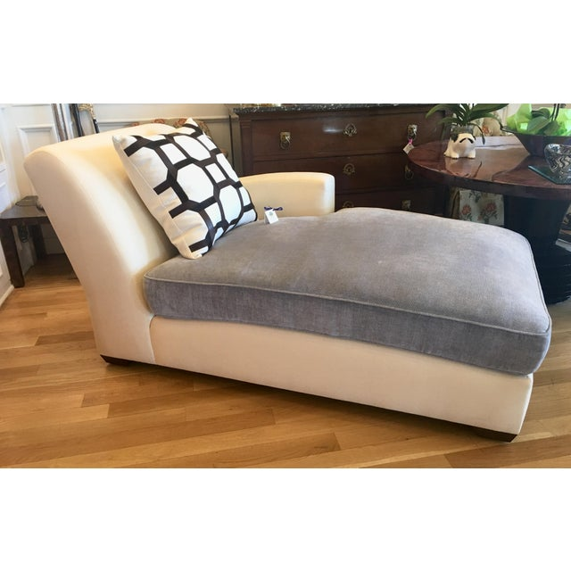 Christian Liaigne for Holly Hunt Nabob Chaise Lounge - Leonard Nemoy Estate - Image 2 of 6