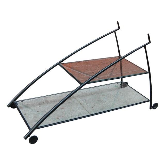 Modernist Bar Cart - Image 1 of 9