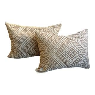 Geometric Design Pillows - A Pair