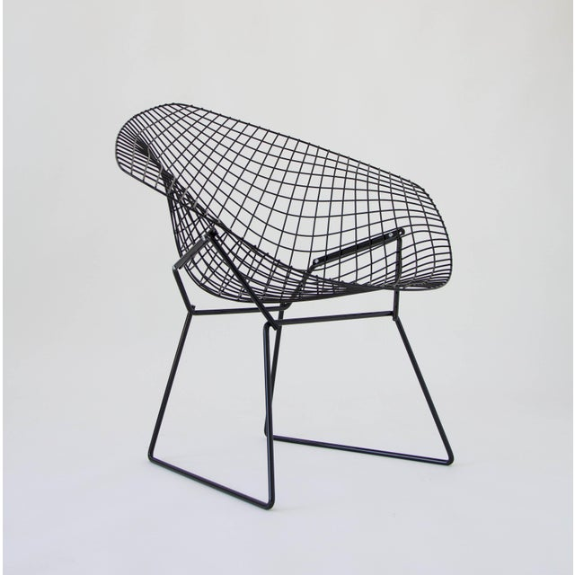 harry bertoia diamond chair chairish. Black Bedroom Furniture Sets. Home Design Ideas