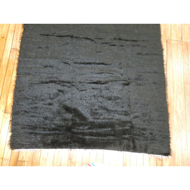 Vintage Mohair Rug - 4'7'' x 6'9'' - Image 9 of 9