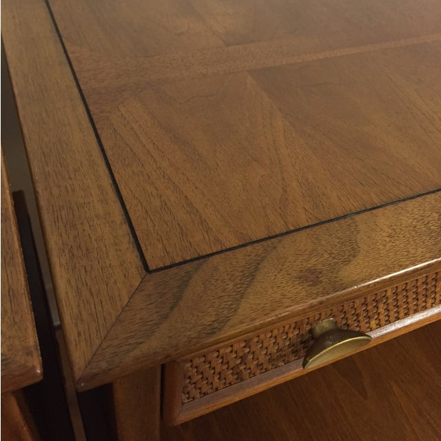 Mid Century Sculpted End Tables - a Pair - Image 11 of 11