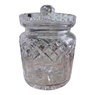Waterford Crystal Lismore Biscuit Jar