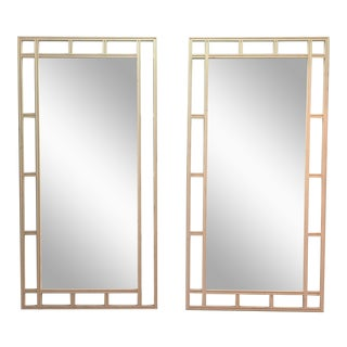 Lattice Framed Mirrors - A Pair