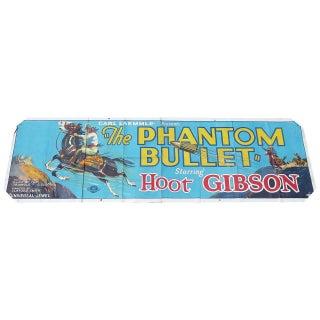 """""""The Phantom Bullet"""" Movie Ad Banner Poster 1926"""
