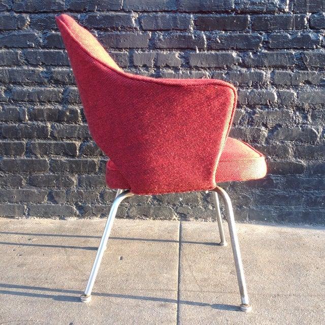 Eero Sarrinen Red Executive Chair - Image 4 of 5