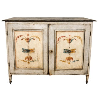Large, Hand-Painted Tuscan Buffet