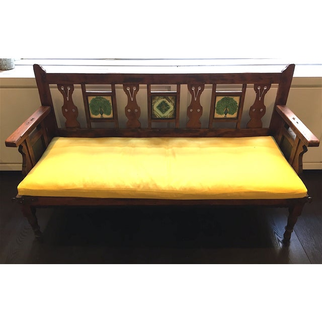 Vintage Indian Bench, ABC Carpet and Home - Image 2 of 9