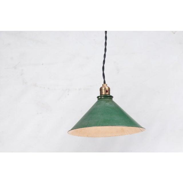 Adjustable Vintage Pendant Lights - Set of 3 - Image 4 of 7