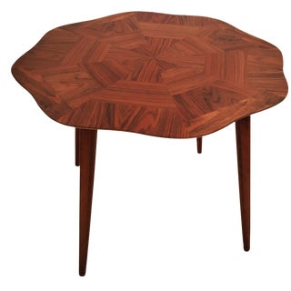 Mid Century Flower Shaped Coffee Table