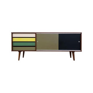 Custom Made Colorblock Credenza