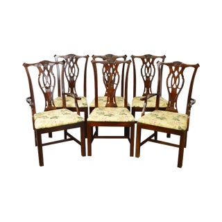 Thomasville Chippendale Style Dining Chairs - Set of 6