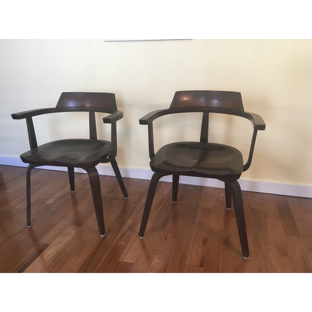 "Walter Gropius ""W199"" Chairs - A Pair - Image 2 of 4"