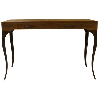 Cabriole Leg Console Table