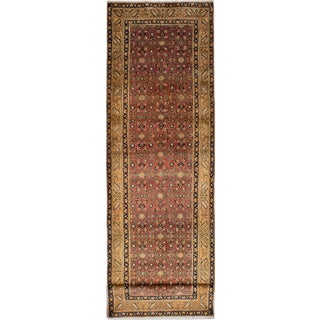 "Vintage Persian Rug - 3'9"" x 13'10"""