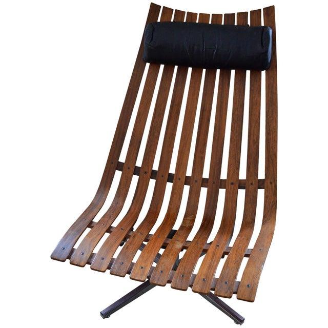 Image of Hans Brattrud W/ Hove Möbler Swivel Lounge Chair