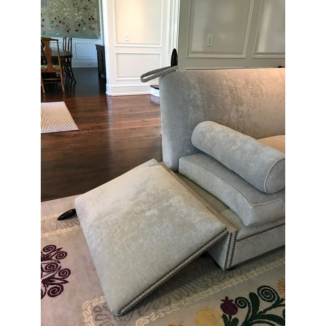 George Smith Light Silver Grey Sofa - Image 8 of 9