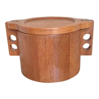 Birgit Krogh Woodline Teak Ice Bucket