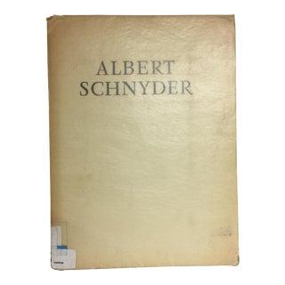 Albert Schnyder Folio Landscapes and Portraits, 1951