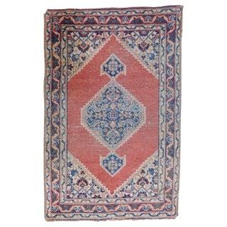 Antique Persian Tabriz Rug - 1′8″ × 2′8″