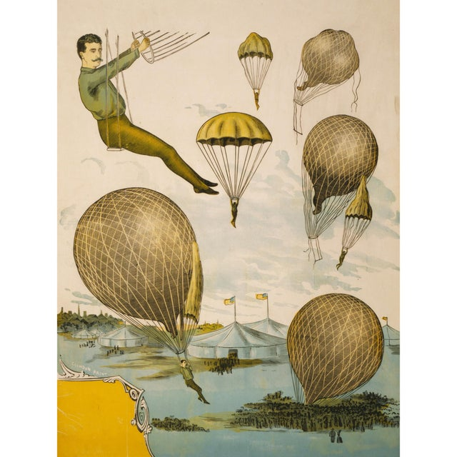 Print of 1800's Circus Poster - Image 1 of 5