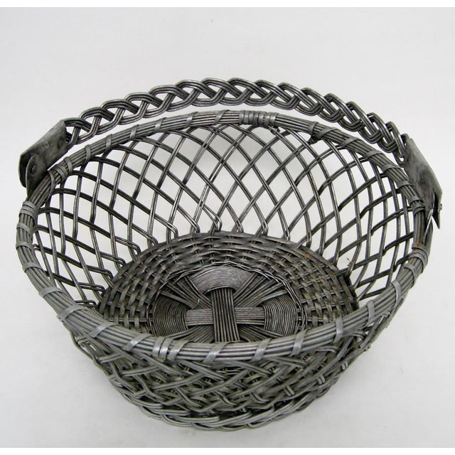 Vintage Tin Basket - Image 2 of 8