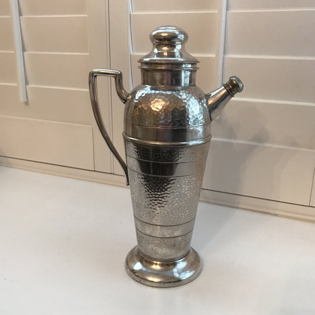 Forbes Silver Co. Art Deco Martini Shaker - Image 2 of 11