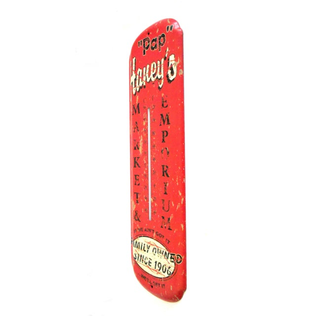 Pap Haney's Market Emporium Rustic Wall Thermometer - Image 2 of 9
