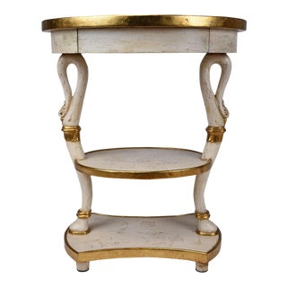 Vintage French Empire Style Side Table
