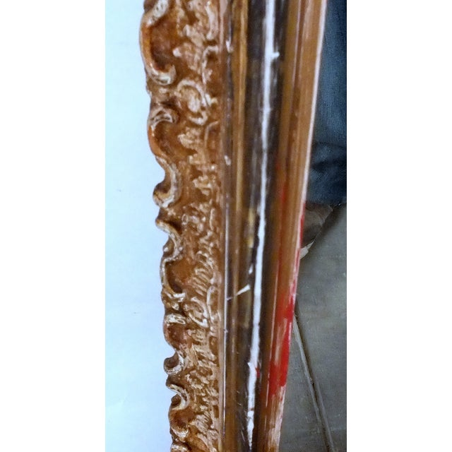 Late-19th Century Large Standing Italian Mirror - Image 6 of 9