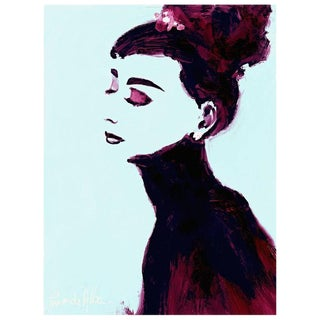 """Audrey"" by Arthur Pina De Alba, Ipad Drawing on Archival Art Paper # 2 of 7"