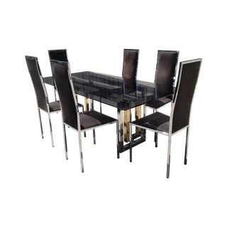 chairish vault romeo rega dining set price 1 500 was 10 000