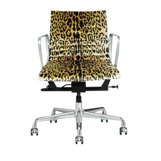Eames Scalamandre Leopard Office Chair