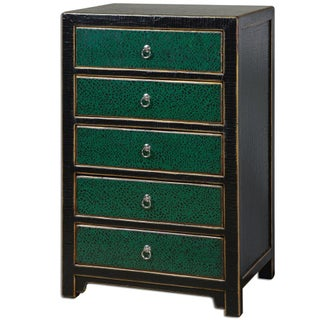 Emerald Accent Chest