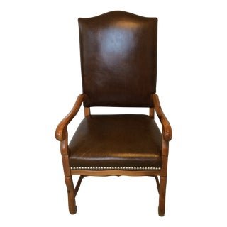 Ralph Lauren Leather Arm Desk Chair