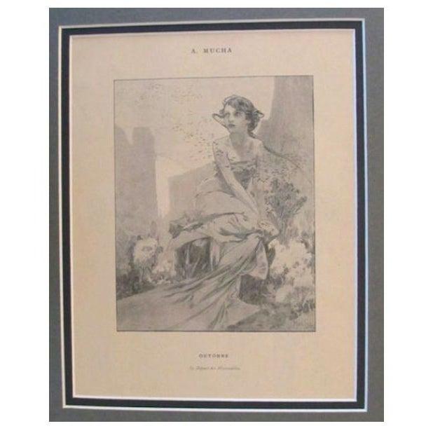Image of 1899 Original Mucha Cocorico Illustration Oct.
