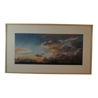 Nancy Bandy Original Texas Sky Pastel Painting