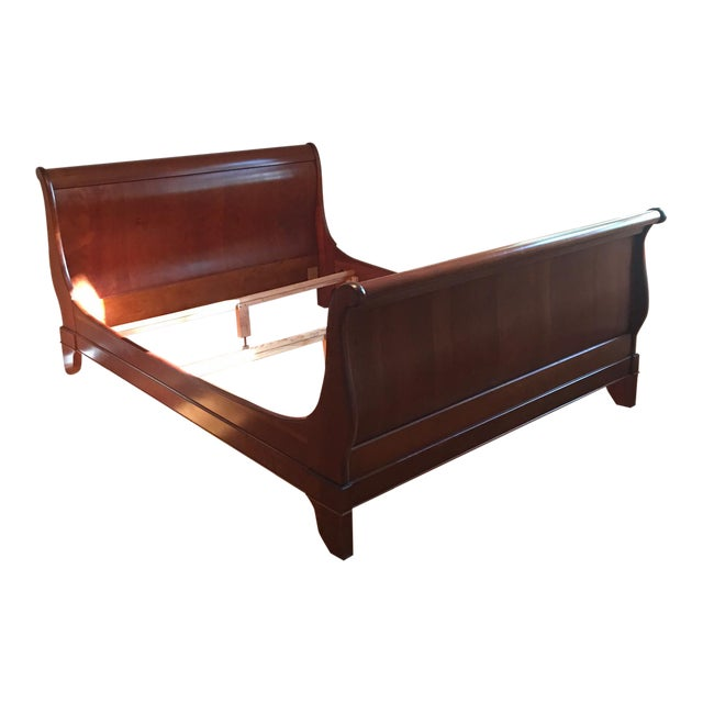 French Grange Sleigh Bed - Image 1 of 4