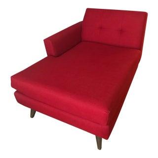 Hughes Mid-Century Single Arm Chaise