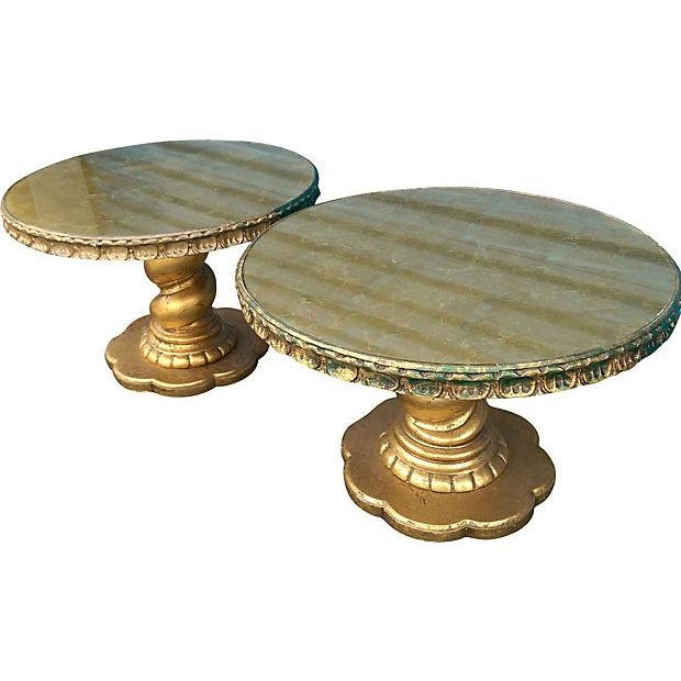Florentine Style Gilt Twist Tables - A Pair - Image 3 of 7